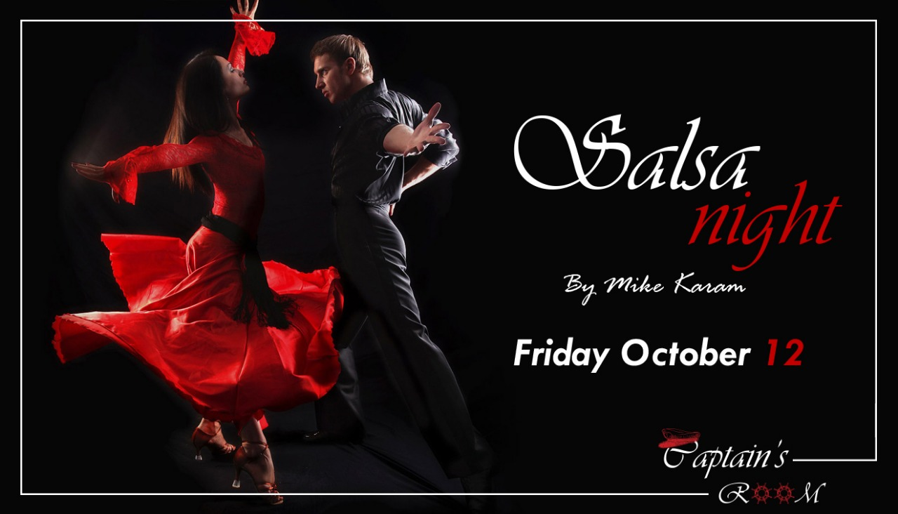 Salsa Night by Mike Karam at Captain's Room