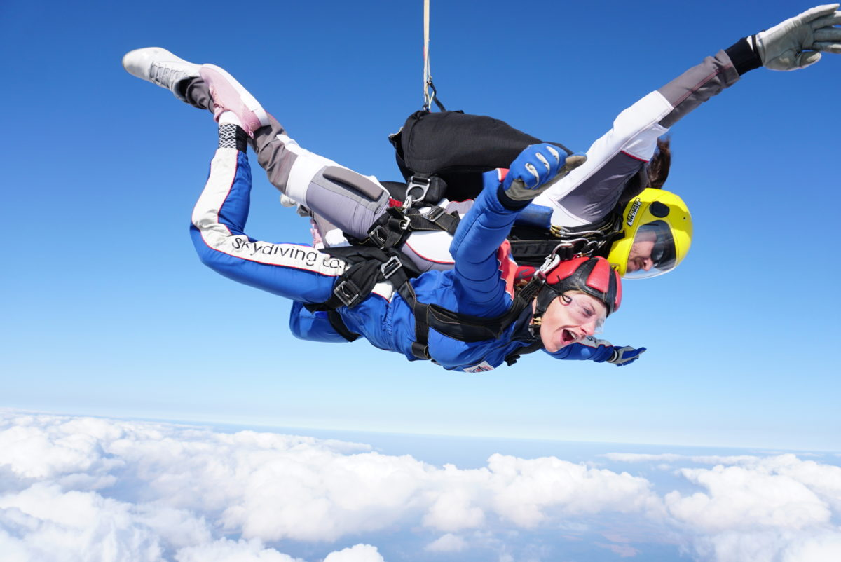 What Happens On The Tandem Skydiving Course