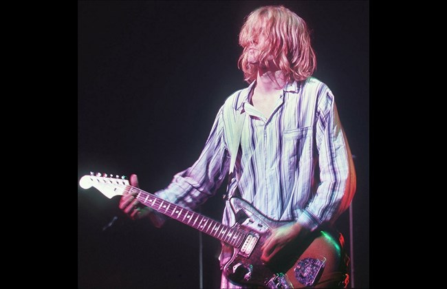 Deified as voice of his generation, Cobain lives on