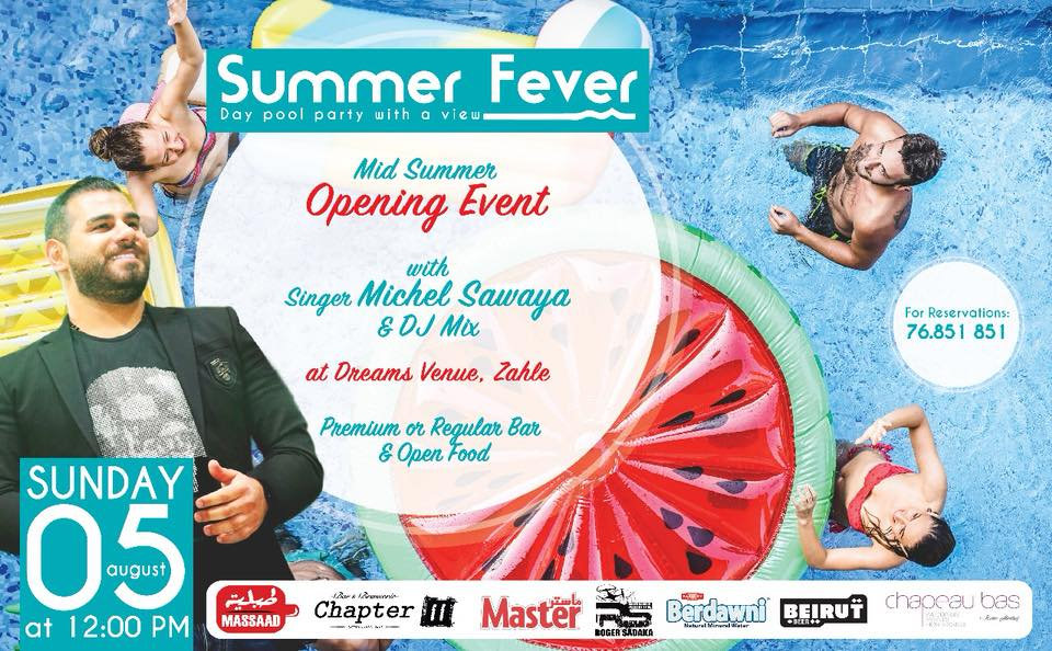 Summer Fever Event at Dream Venue