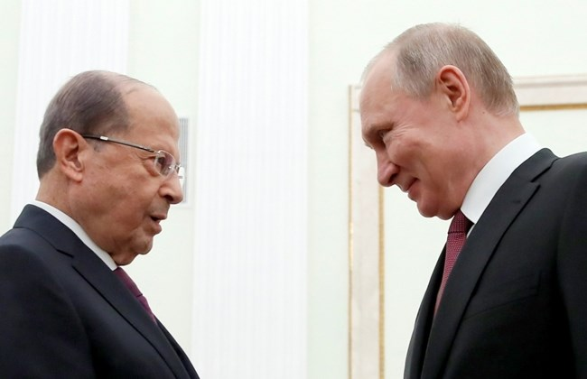 Aoun, Putin agree to boost relations